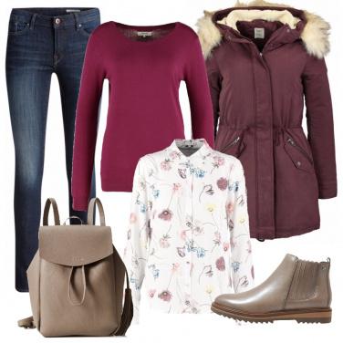 Outfit Pratico e caldo
