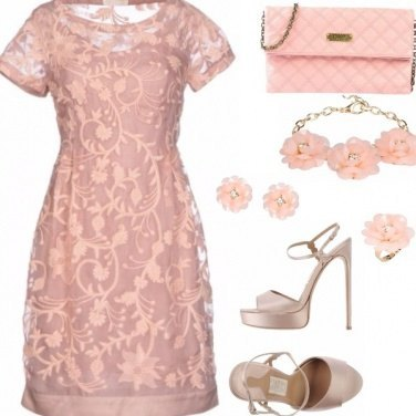 Outfit Peach wedding