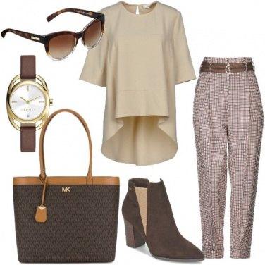Outfit Il pantalone a vita alta