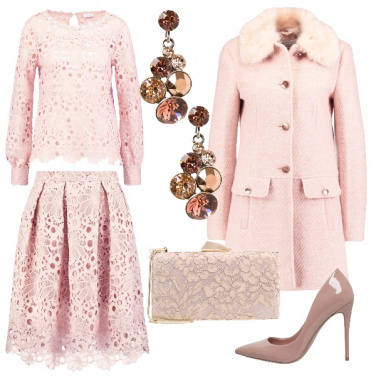 Outfit Nuvola rosa