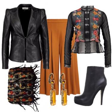 Outfit Colorata in discoteca