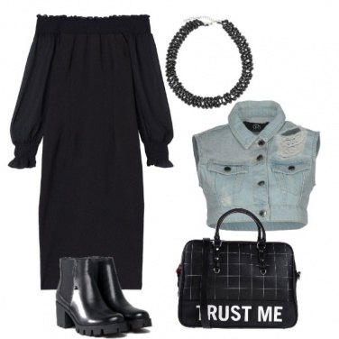 Outfit Trust in black
