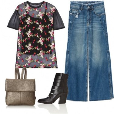 Outfit Trendy in denim