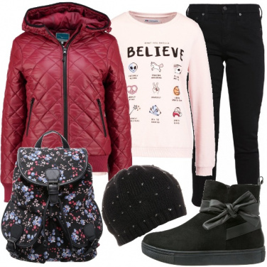 Outfit Romantica sognatrice