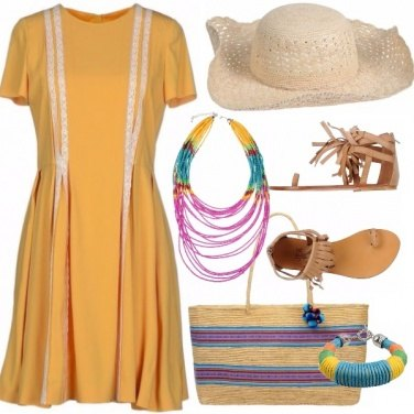 Outfit Colorful summer
