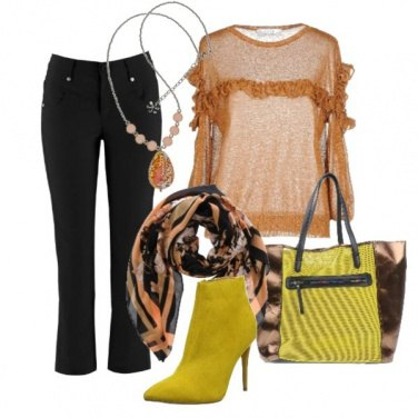 Outfit With yellow