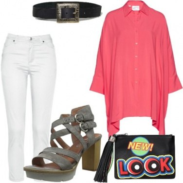 Outfit Oversize con cintura