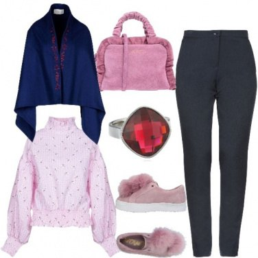 Outfit Contrasti forti
