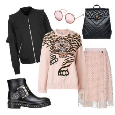 Outfit Rock in rose