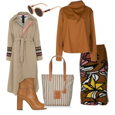 Outfit Autumn in brown