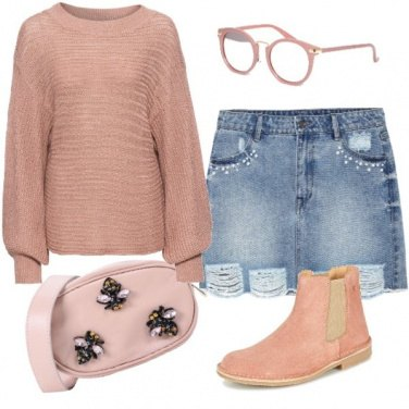 Outfit Maglia oversize