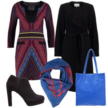 Outfit Colore anche d\'inverno