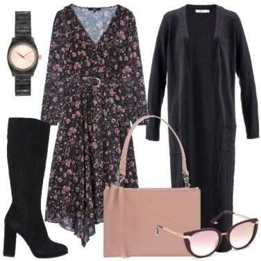 Outfit Il maxi cardigan