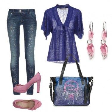 Outfit Tutta brillantini