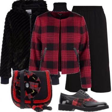 Outfit Tartan a passeggio