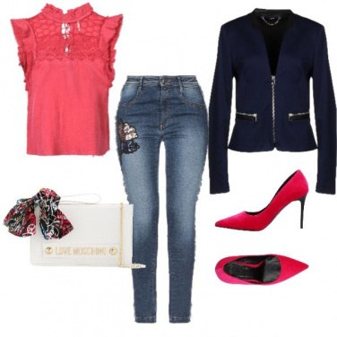 Outfit Jeans & colours