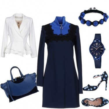 Outfit 1000 bolle blu