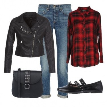 Outfit Basic Red1