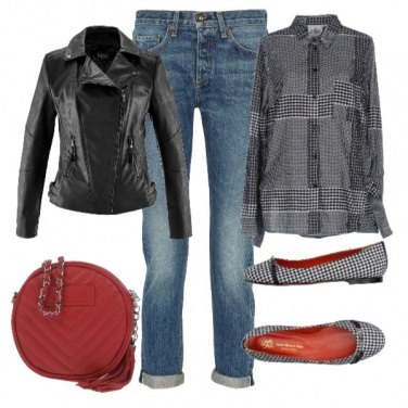 Outfit Basic red4