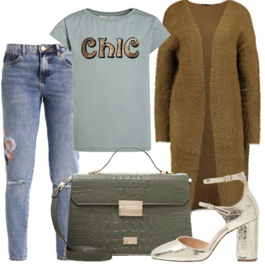 Outfit Colore chic