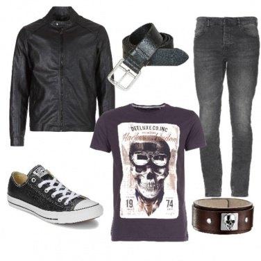 Outfit Biker Rock #362