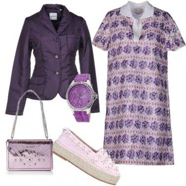 Outfit Tutto viola