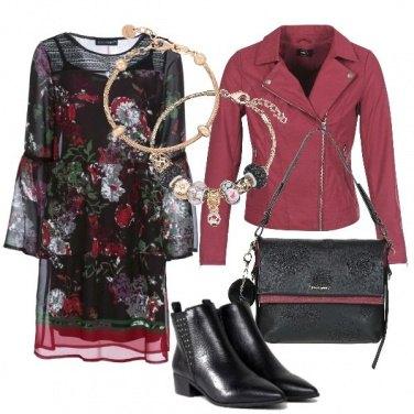 Outfit Fiori stilizzati