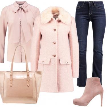 Outfit Un po\' rosa , un po\' chic