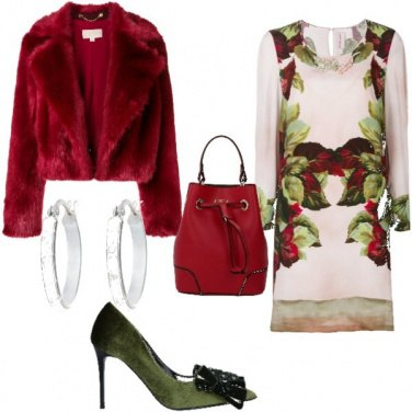 Outfit Si sta come d\'autunno