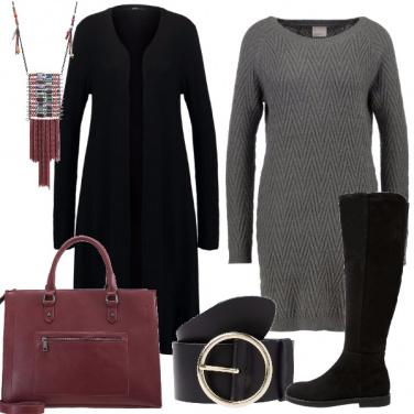 Outfit Femminile con tonalità neutre