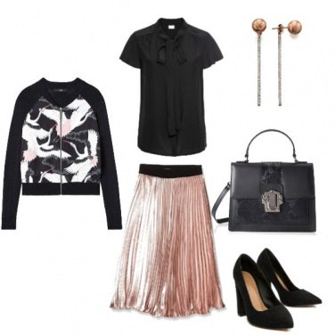 Outfit Rose gold