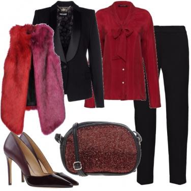 Outfit Toni vermigli