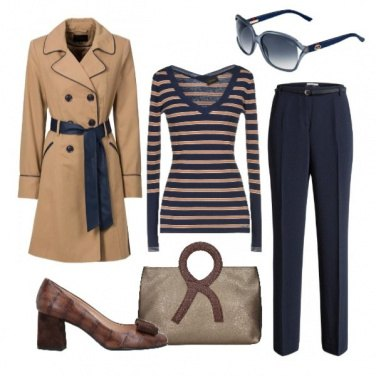 Outfit Righe orizzontali