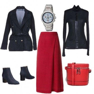 Outfit Velluto a coste al femminile