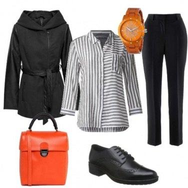 Outfit Spruzzate di arancione