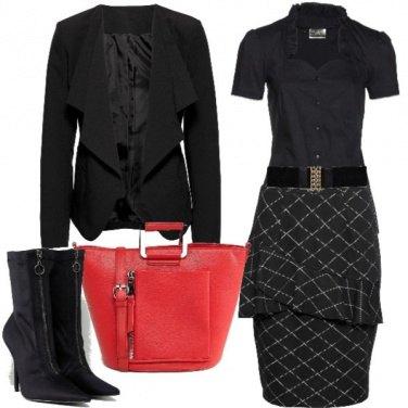 Outfit Gonna e stiletto
