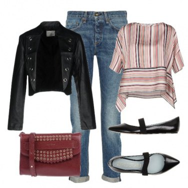 Outfit Basic Red5