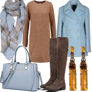 Outfit Filati dai colori autunnali