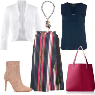Outfit Morbide righe