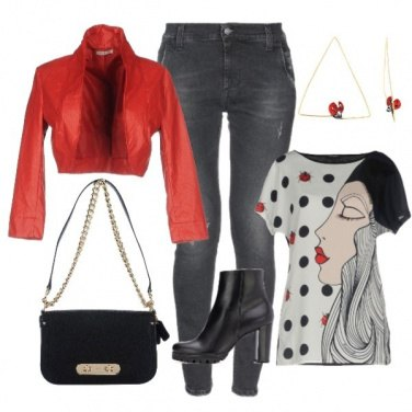 Outfit Pois Trendy