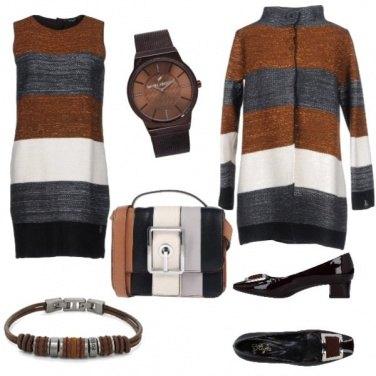 Outfit Il fascino indiscreto delle righe