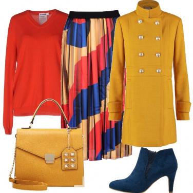 Outfit Inverno colorato