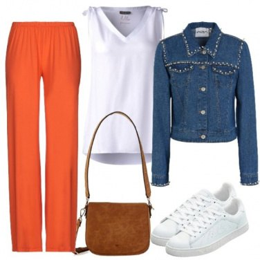 Outfit Arancio perfetto