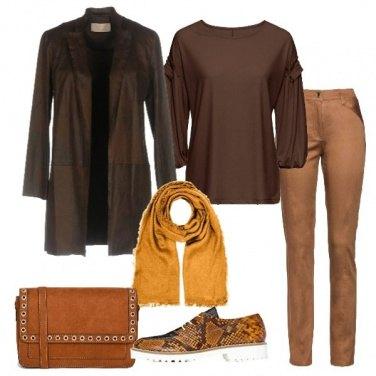 Outfit I colori delle foglie