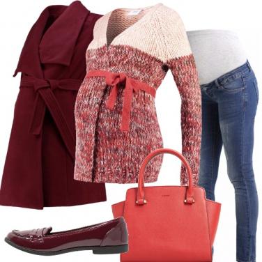 Outfit Morbido cardigan