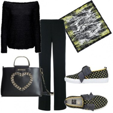 Outfit Sneakers con i fiocchi