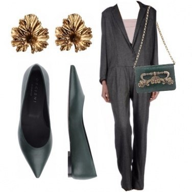 Outfit Verde mirto