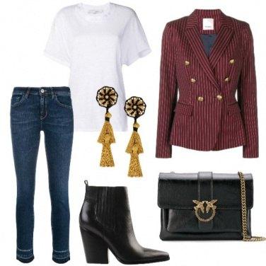 Outfit La giacca a doppio petto