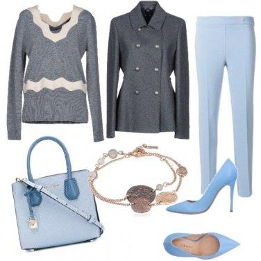 Outfit Azzurro, il pomeriggio