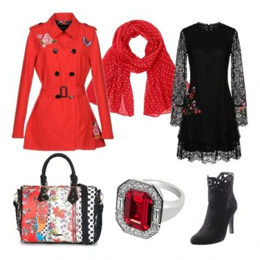 Outfit Desigual mania